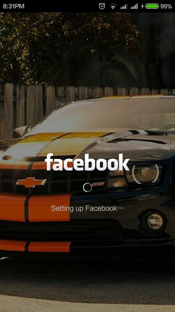 transparent facebook app