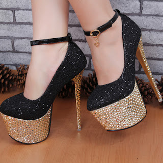 Contoh Sepatu High Heels Wanita Untuk Pesta 2016