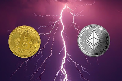 Ethereum and bitcoin lightning network