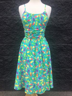 retrolicious popsicle dress