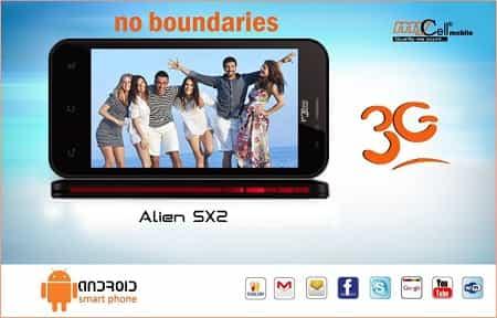 Mycell Alien SX2 Smartphone