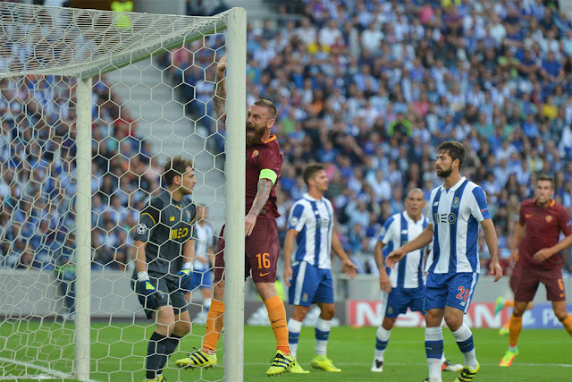 Roma Porto 0-3 preliminari Champions league