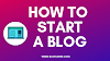 How To Start a Blog Earn 1000$ In a Month