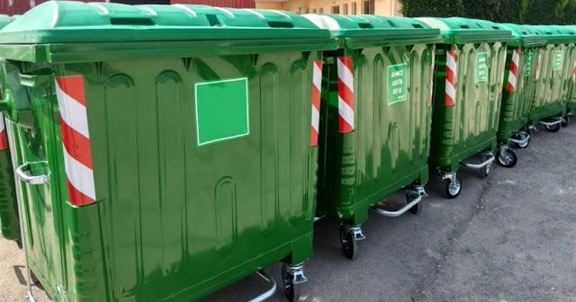 Τέλος οι βρώμικοι κάδοι στην Αθήνα – Ο Δήμος πλένει όλους τους κάδους και θα πλένονται κάθε 2 μήνες