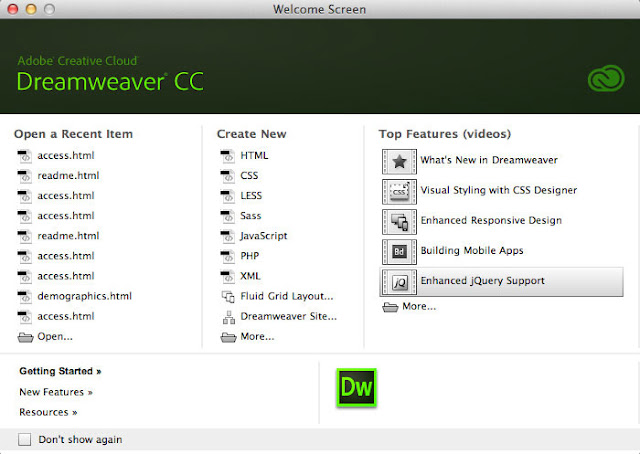 Adobe Dreamweaver CC 2015 | Computer Sofware