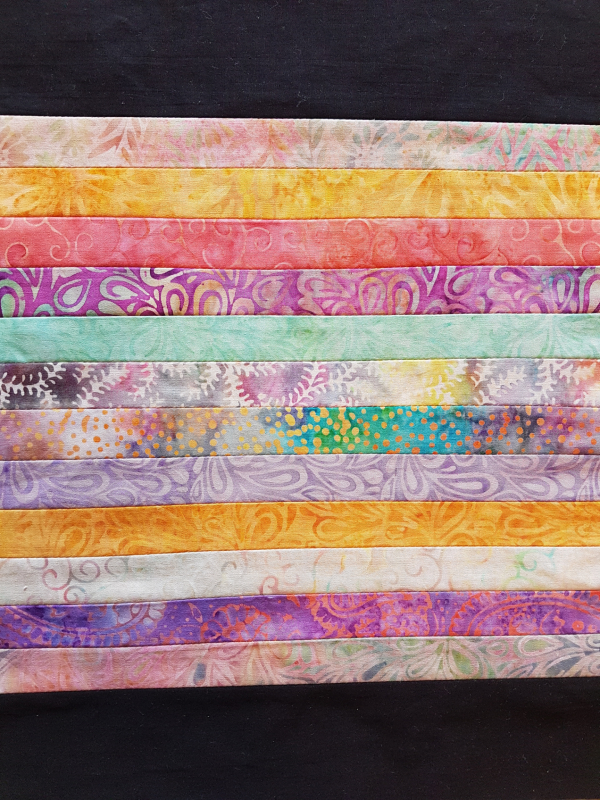reverse applique strip set | DevotedQuilter.com
