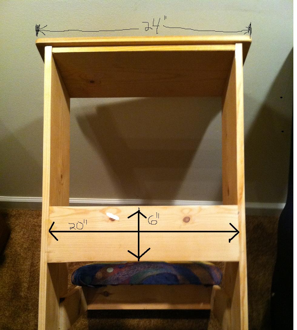 Wood Kneeling Bench Plans PDF Plans