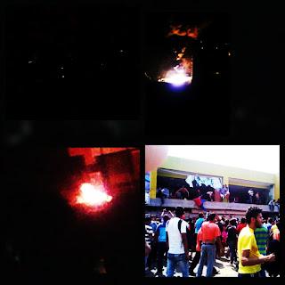 FOTOS: mas de 100 horas sin luz y cientos de saqueos en Venezuela.