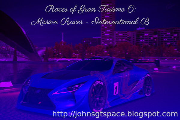 Gran Turismo 6 International A Mission Races