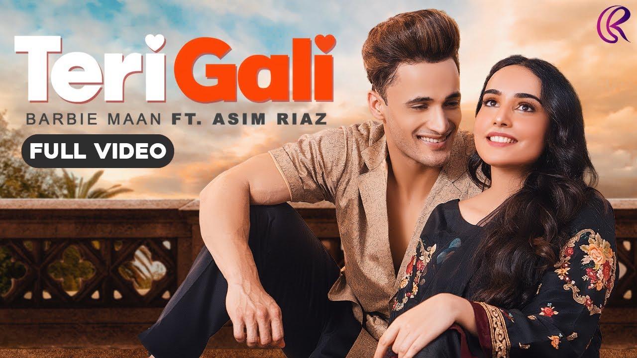 Teri Gali Lyrics - Barbie Maan Ft Asim Riaz  Vee  Guru Randhawa