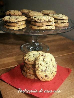 ricetta cookies di pasticceria di casa mia