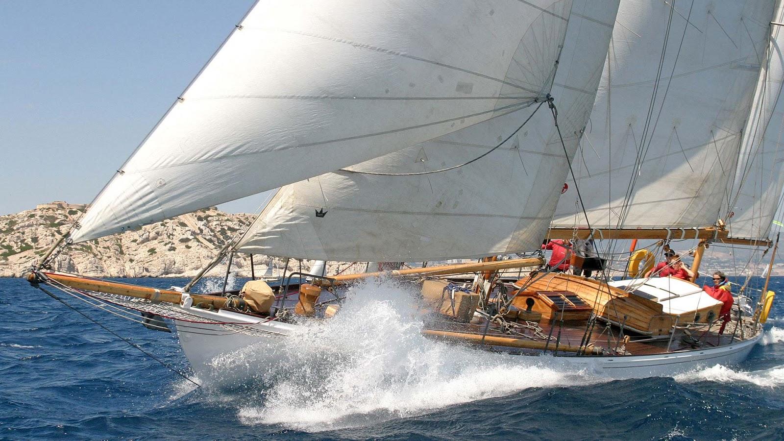 Skoiern um dos mais charmosos veleiros que j vi de perto