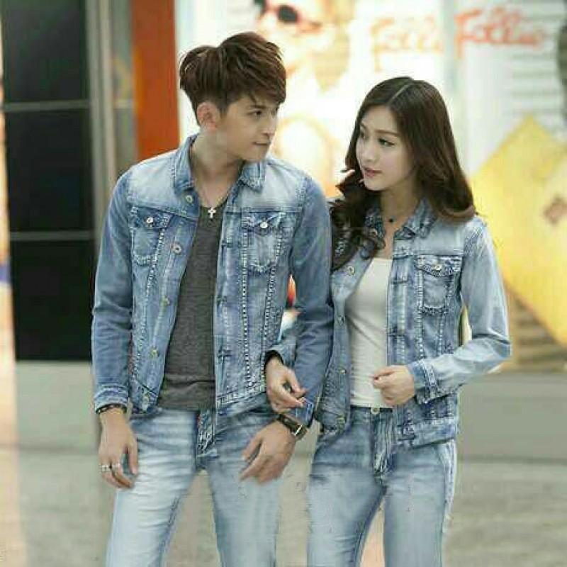Jual Online Jaket Jeans Original Jakarta Bahan Jeans Asli Terbaru