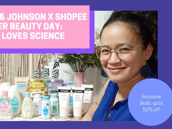 Johnson & Johnson x Shopee Super Beauty Day: Skin Loves Science