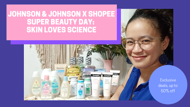 Johnson &Johnson x Shopee Super Beauty Day