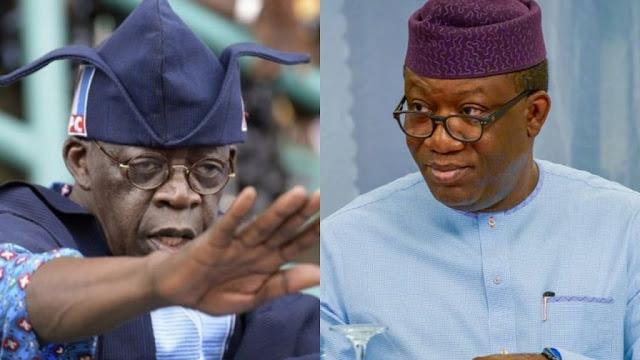 Internal crisis in APC may derail your vision for Ekiti – Tinubu tells Fayemi