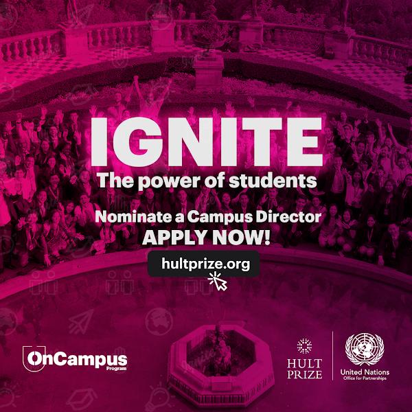 Hult Prize busca jóvenes líderes agentes de cambio en la USFQ