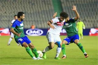 الزمالك يتغلب على المقاصة ويصل لنصف نهائي كأس مصر