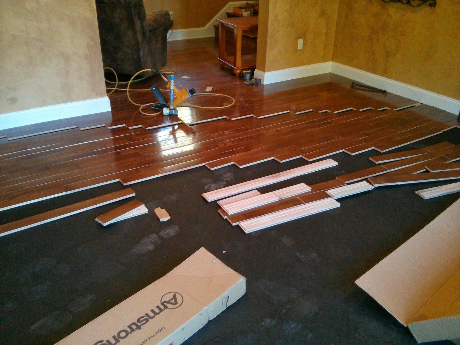 Floor Installation Photos Bruce 4 Quot Saddle Oak