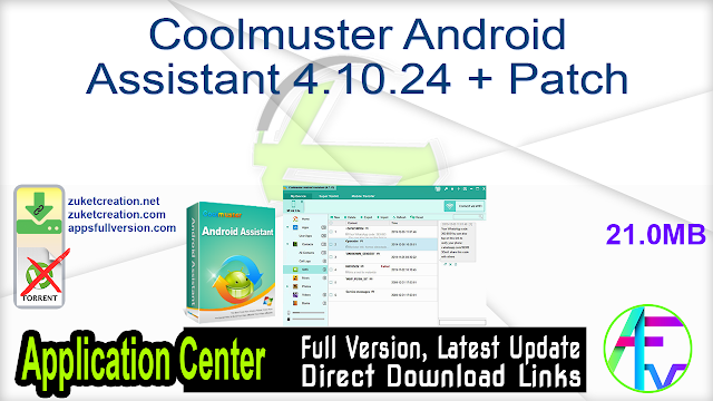 Coolmuster Android Assistant 4.10.24 + Patch