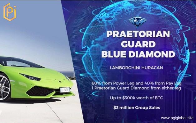 PGI Praetorian Guard BLUE DIAMOND