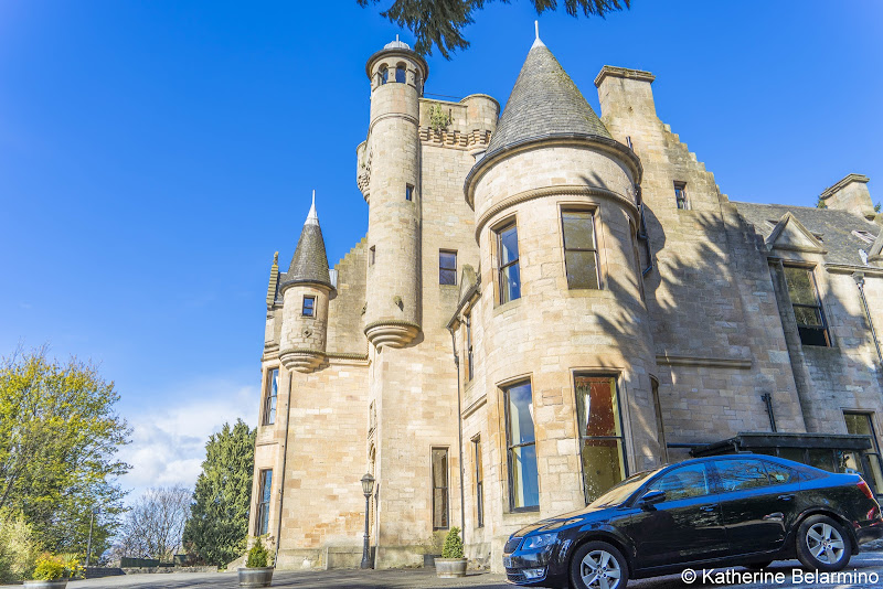 Broomhall Castle Hotel Best Castles in Scotland for a Road Trip Itinerary