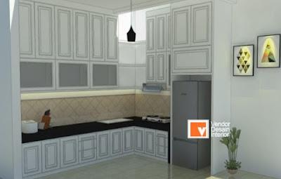 Desain Kitchen Set untuk Dapur Minimalis