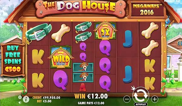 Main Gratis Slot Indonesia - The Dog House Megaways (Pragmatic Play)