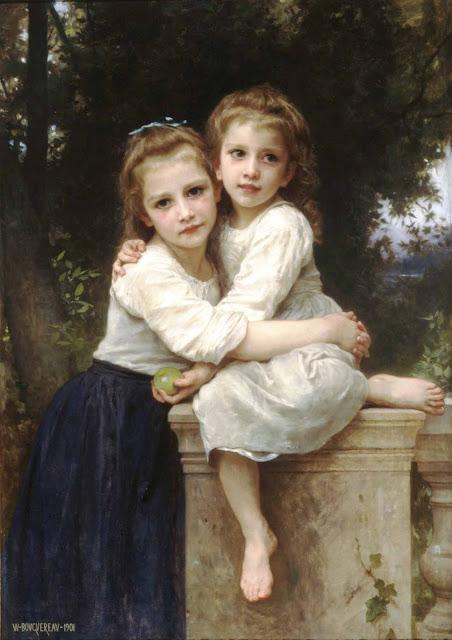 Адольф Вильям Бугро - Две сестры (1901)