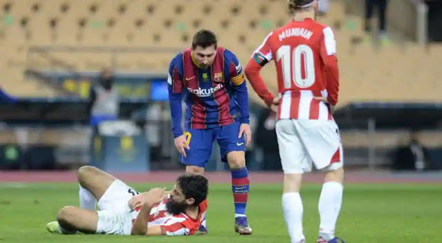 Barcelona star, Lionel Messi handed two-game ban