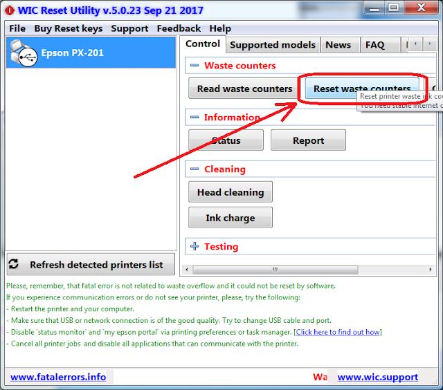 Wicreset | KEY WIC | Key Wicreset Máy in | Hướng dẫn reset máy in EPSON - CANON | Bán Key reset Máy in EPSON - CANON Giá Rẻ