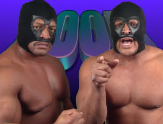 WCW Clash of the Champions X -  Doomed faced The Steiners in a Mask vs. Title match