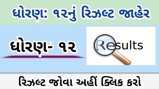 www.Gseb.org HSC Result 2020 GSEB HSC General Stream Result 2020