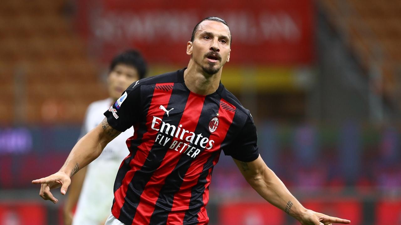 Rossoneri striker Zlatan Ibrahimovic