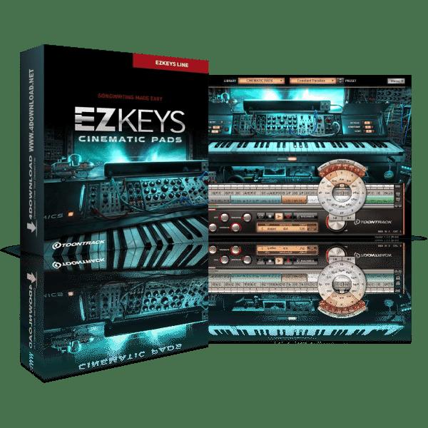 Toontrack EZkeys Cinematic Pads v1.3.0 Full version
