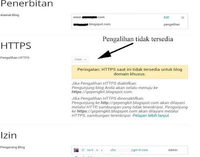Kegagalan saat submit sitemap dan artikel ke webmaster tools