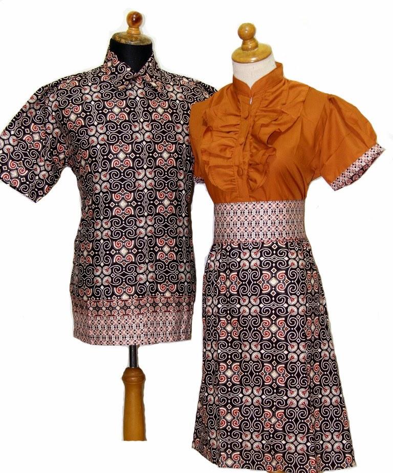 Trend Batik Kerja 2014: Baju Gamis Modern 2014 Online