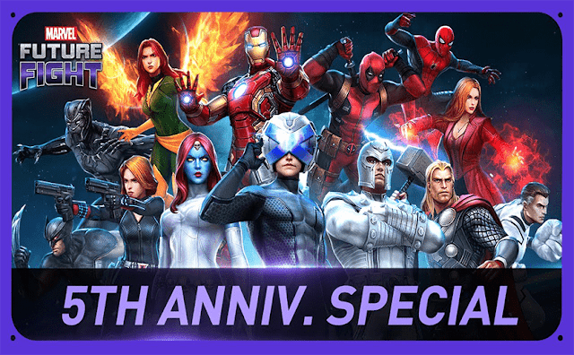 Marvel Future Fight Celebrates 5th Anniversary with Special In-Game Events