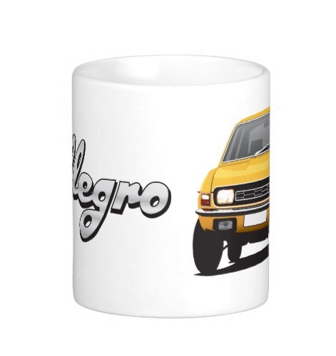 Austin Allegro customizible mug