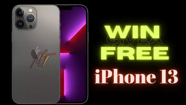 iPhone 13 Pro Free Giveaway