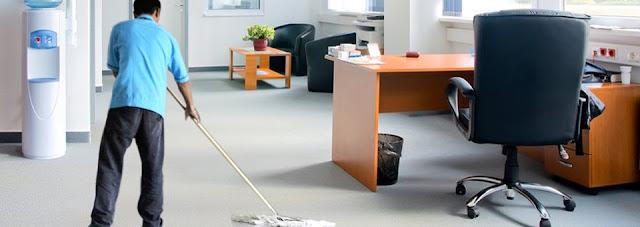 Los servicios de limpieza