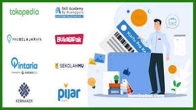 Pembelian Pelatihan di Platform Digital Mitra Kartu Prakerja