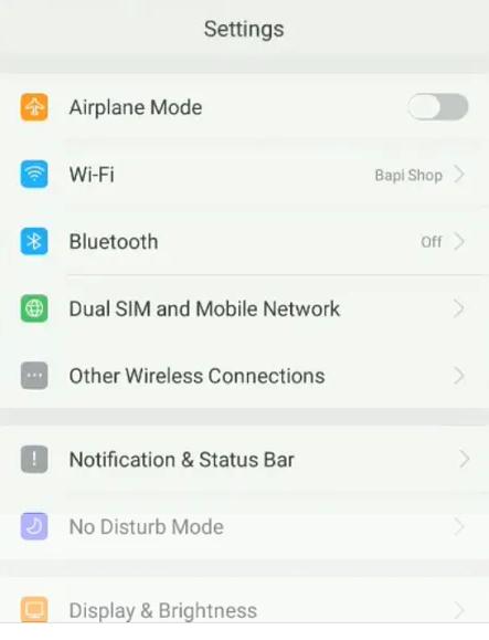 Cara Mengatasi Masalah Wifi DI Oppo A83  2