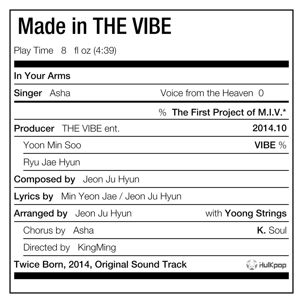 [Single] Asha – Made In The VIBE