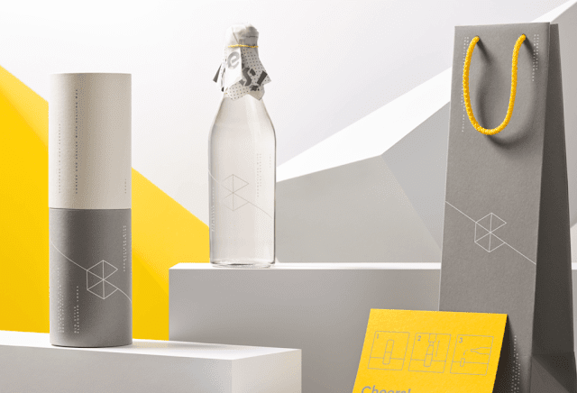 Redkroft - Graphic Design Portfolio - Bottle