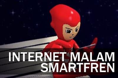 Paket Kuota Internet Malam Smartfren dan Jam Penggunaan