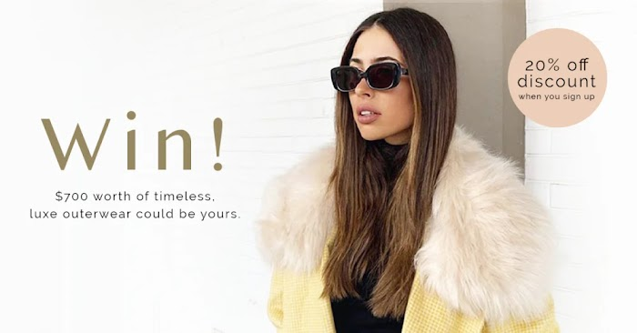 $700 Luxe Outerwear Giveaway