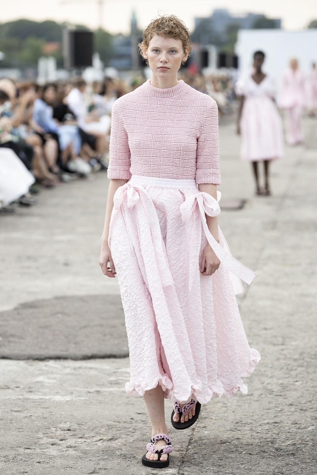 Cecilie Bahnsen Spring Summer 2020 Copenhagen Fashion Week Cool Chic Style Fashion