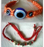amulete bratari: Mana Fatimei si ochiul (cercuri concentrice)