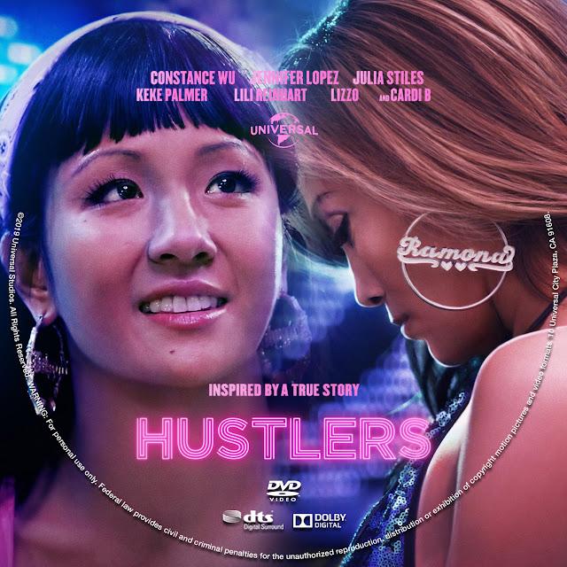 Hustlers DVD Label